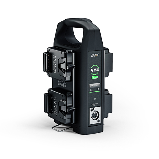 VM4 4-Position Micro Battery Charger (V-Mount)