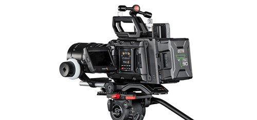 Blackmagic URSA Mini Pro with Titon Battery power
