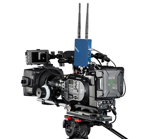 Sony FS7 with Titon Battery power