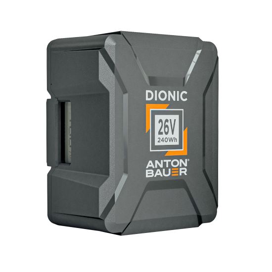 Dionic 26V 240Wh Gold Mount Plus Battery