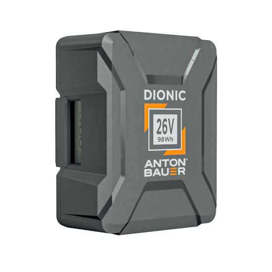 Dionic 26V 98Wh Gold Mount Plus Battery