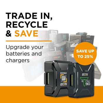 Trade in, recycle and save